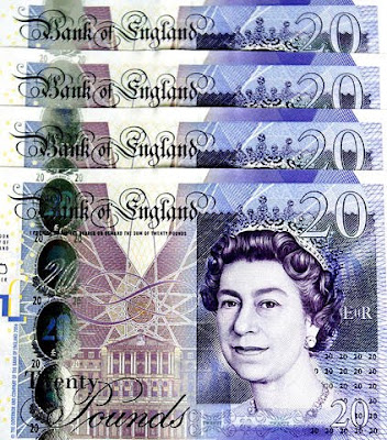 4X CURRENCY: BRITISH PAOUND