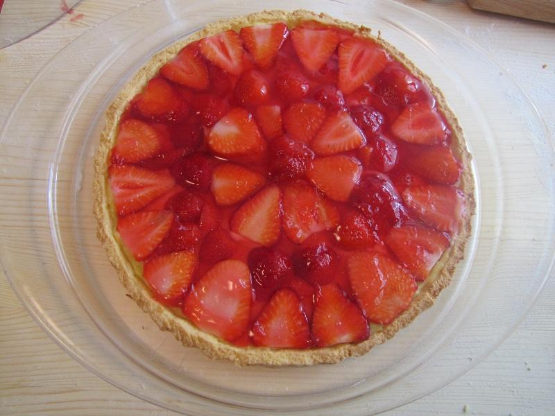 La cucina di alice torta di fragole - La cucina di alice ...