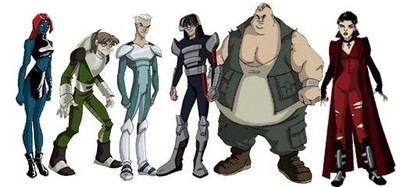 X men evolution brotherhood