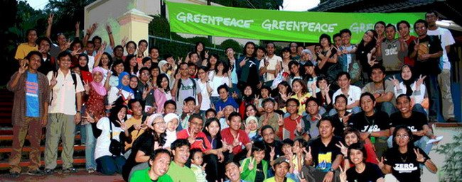 Supporter Greenpeace Indonesia