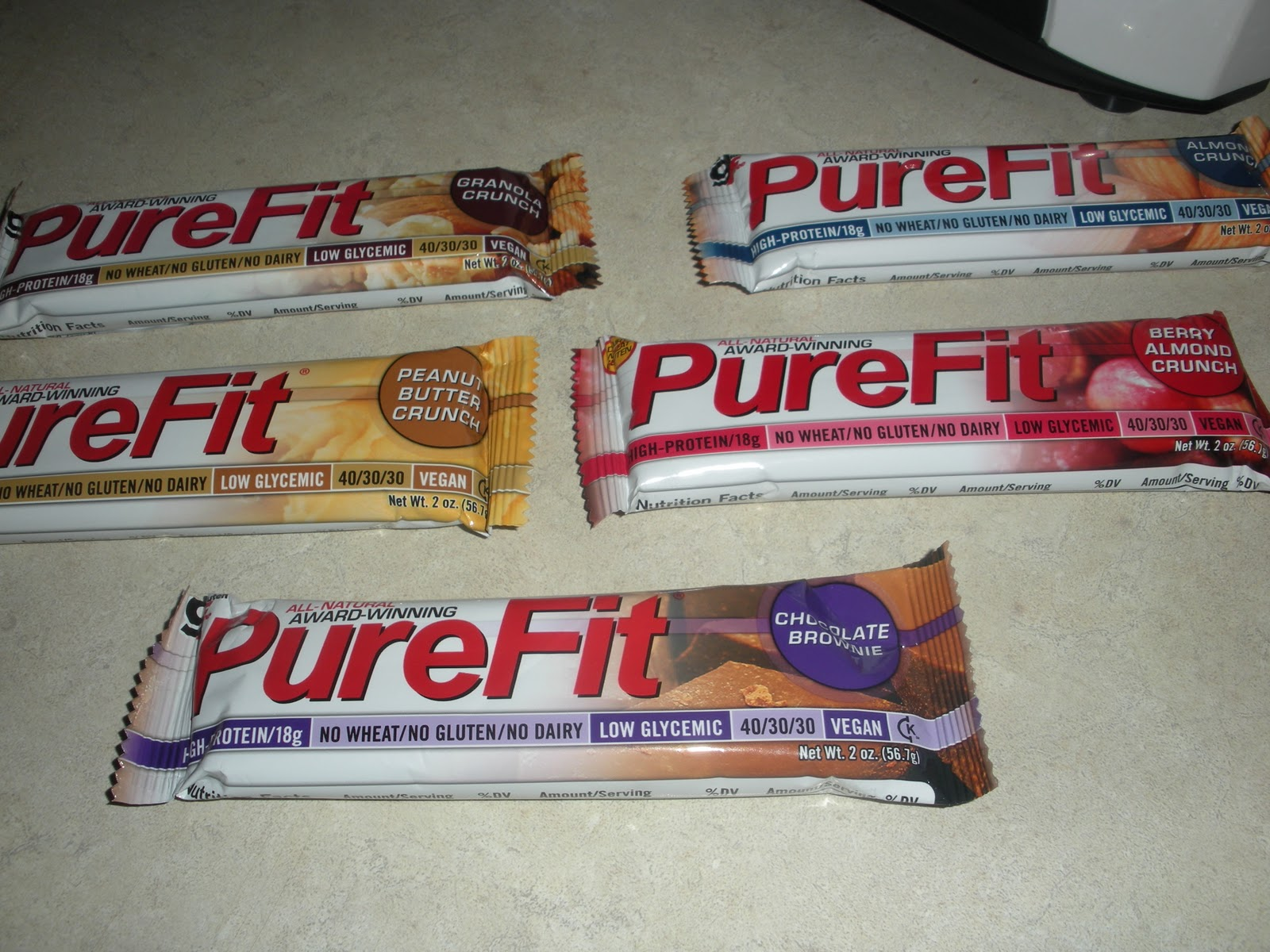 Purefit bar