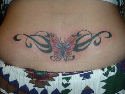 Butterfly Tribal Tattoos5#