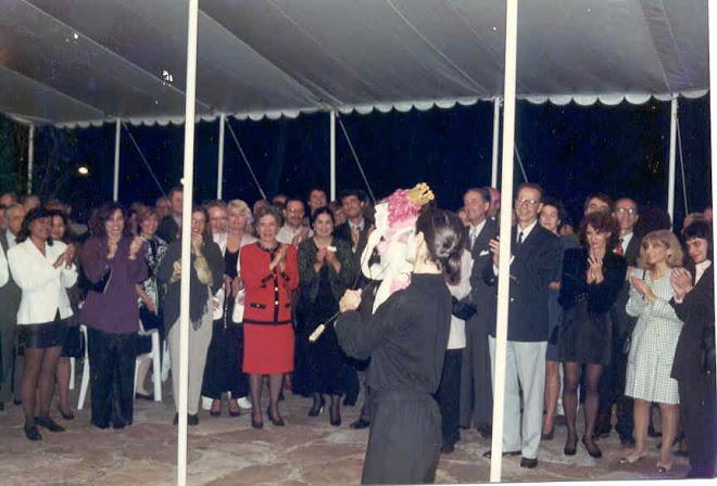 Rodinha canta a cantata de Bach