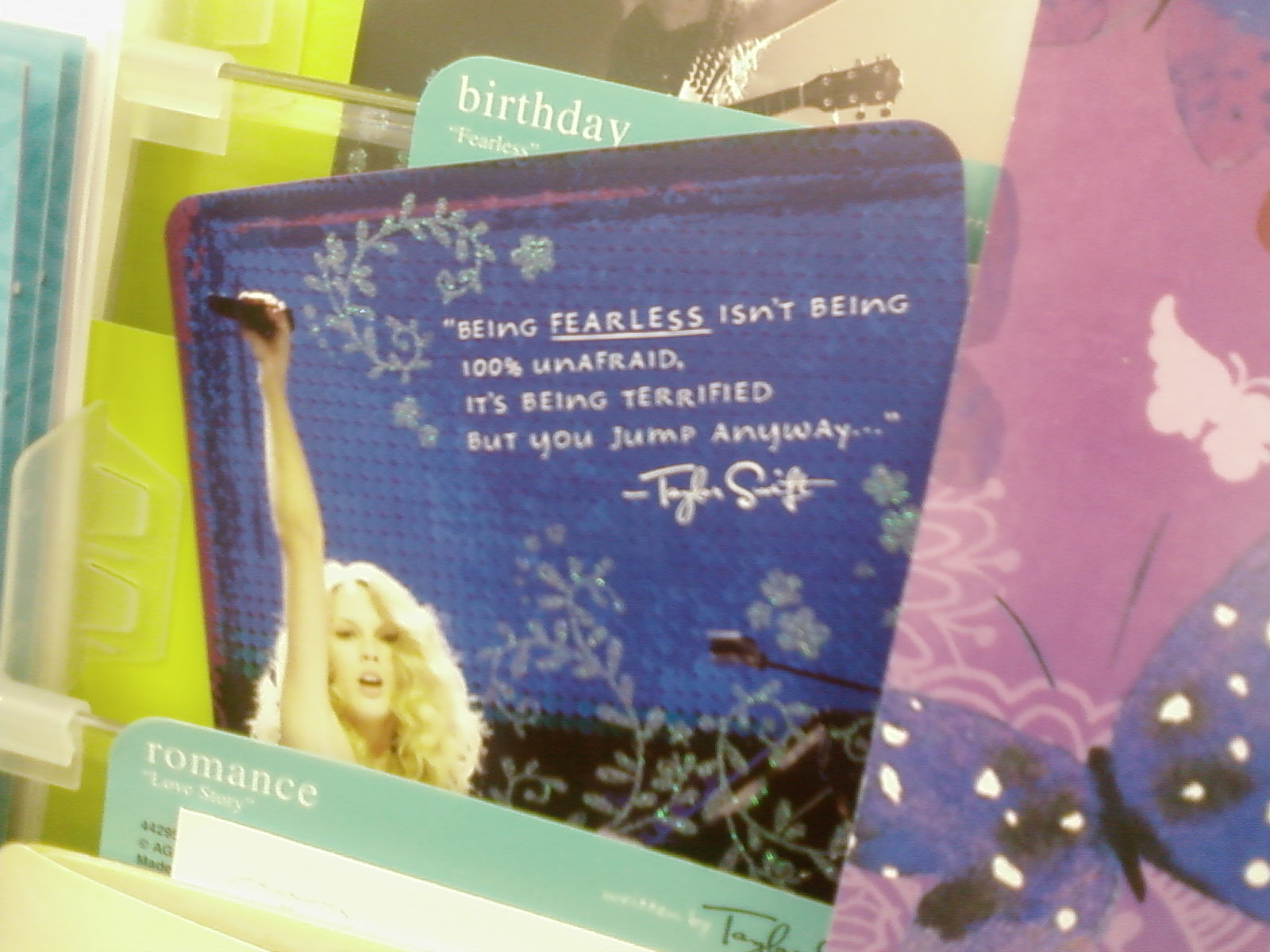 Bumblr Taylor Swift Her Stupid Birthday Card Stupid People