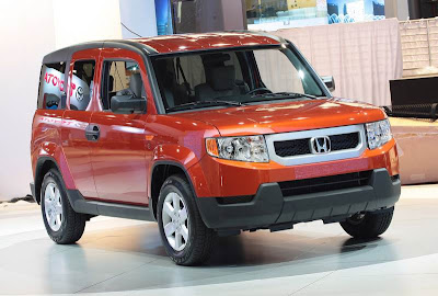 Honda unveils    dog friendly    Element   2013 Best New Honda Cars