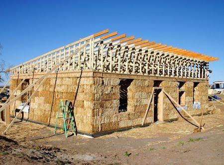 Construir com fardos de palha casas de fardos de palha no for Construction of house step by step