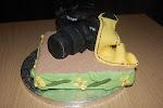 Nikon D40 em bolo...