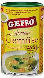 Gefro zöldségleves ínyenceknek