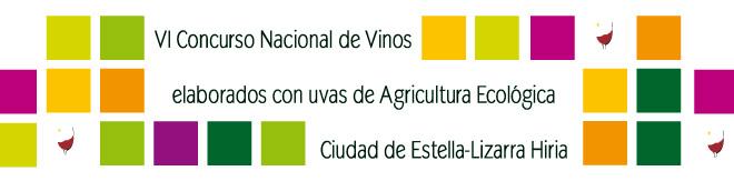 V Concurso nacional de vinos elaborados con uvas de agricultura ecológica de Estella - Lizarra