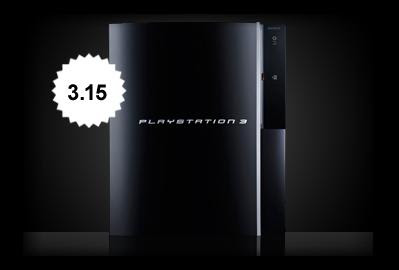 PS3 firmware update 3.15
