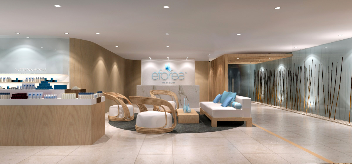 Hilton announces the start of a new series of spas eforea for A new beginning salon