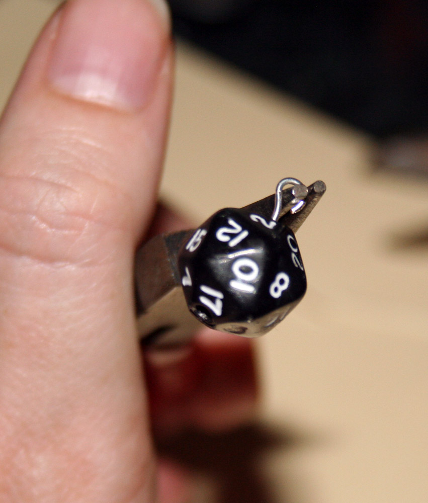 Geek With Curves Geek Crafts How To Make Rpg Dice Earrings