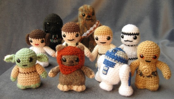 Amigurumi How To Start : geek with curves: Make Your Own Geeky Gifts!