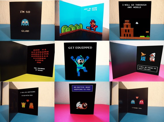 Geek Art Gallery Cards Geeky Valentines Day Cards