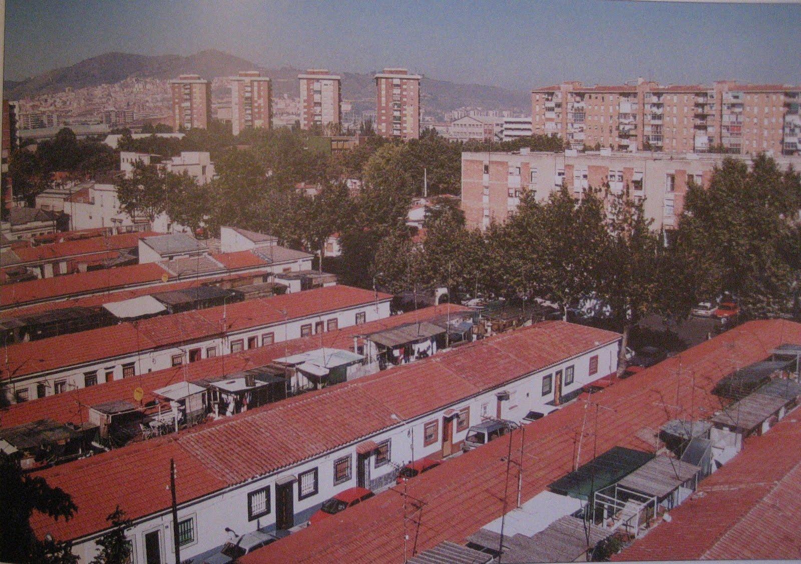 Tot barcelona el barri del bon pastor sant andreu for Casas baratas en barcelona