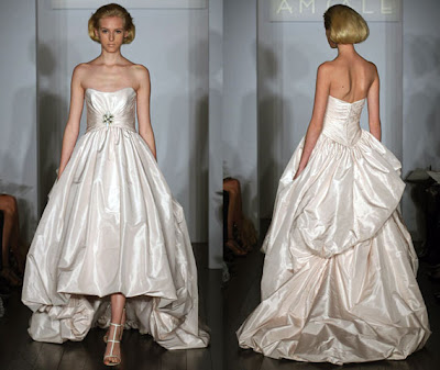The gorgeous pale pink silk taffeta wedding gown is part