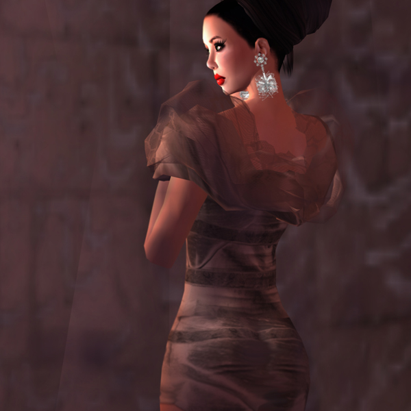 Sl fashion files february 2011 the name of this mini dress is wipsty and is shown in the color burleywood but if i had the choice i would call it chocolate heaven voltagebd Image collections