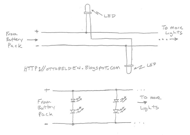 Wiring Diagram For Christmas Mini Lights : Going s on of otto pastimes how to make a led