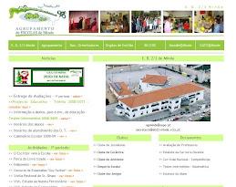 Site do Agrupamento