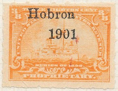 Hobron Printed Cancels