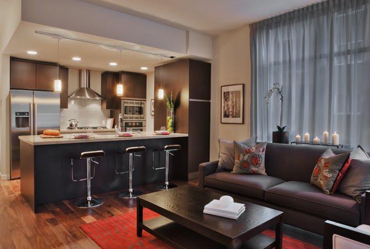 Model Home Living Room