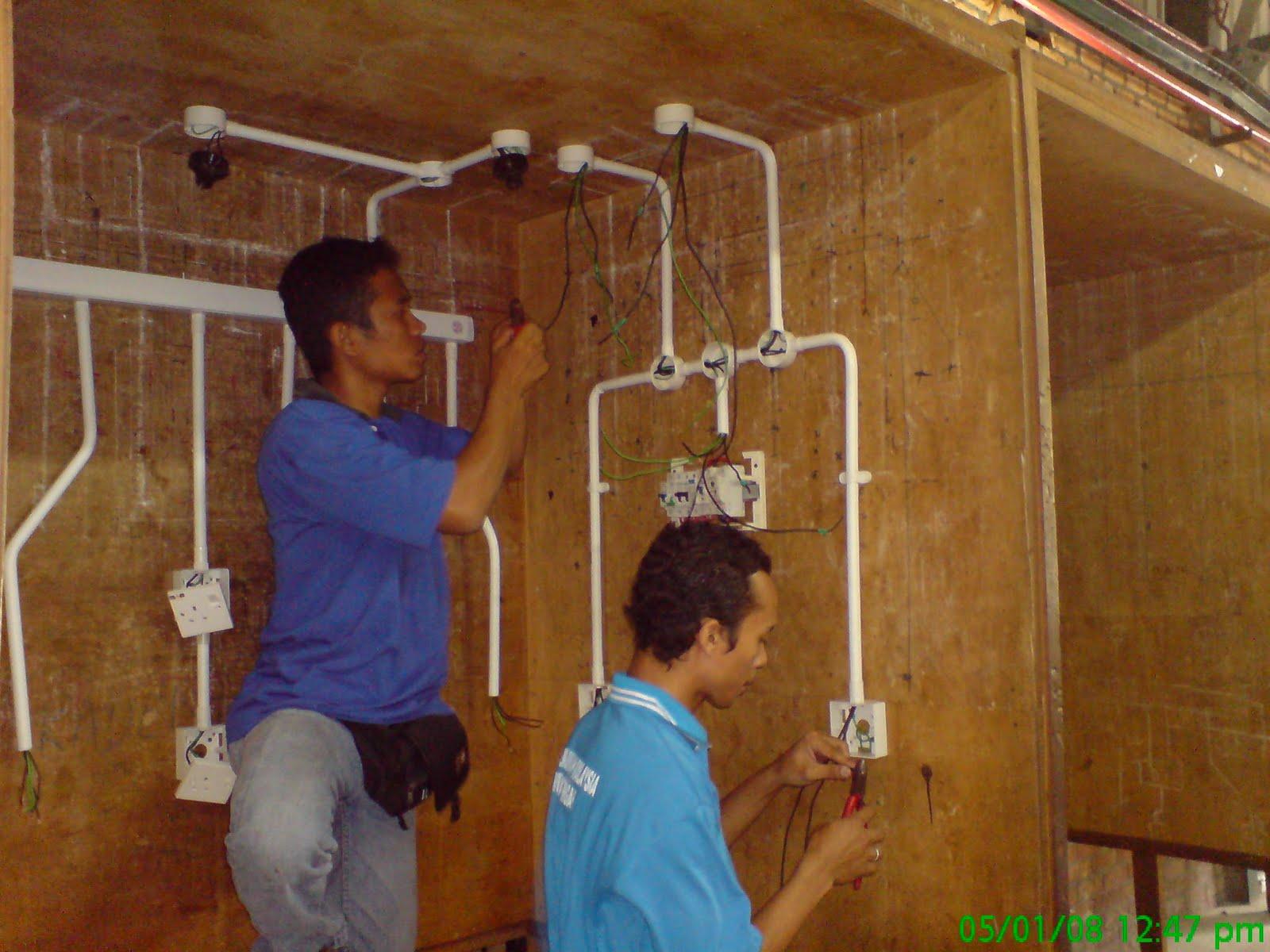 Sesi pembelajaran asas kerja-kerja pendawaian Elektrik : belajar wiring elektrik - yogabreezes.com