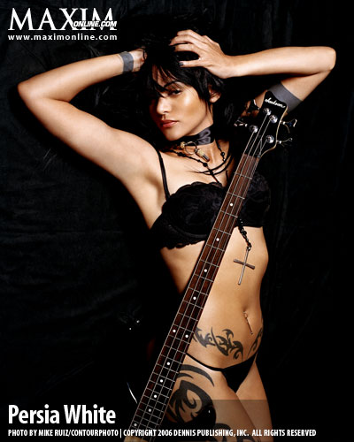 PERSIA WHITE tattoos and pictures. The webs' original & biggest list of