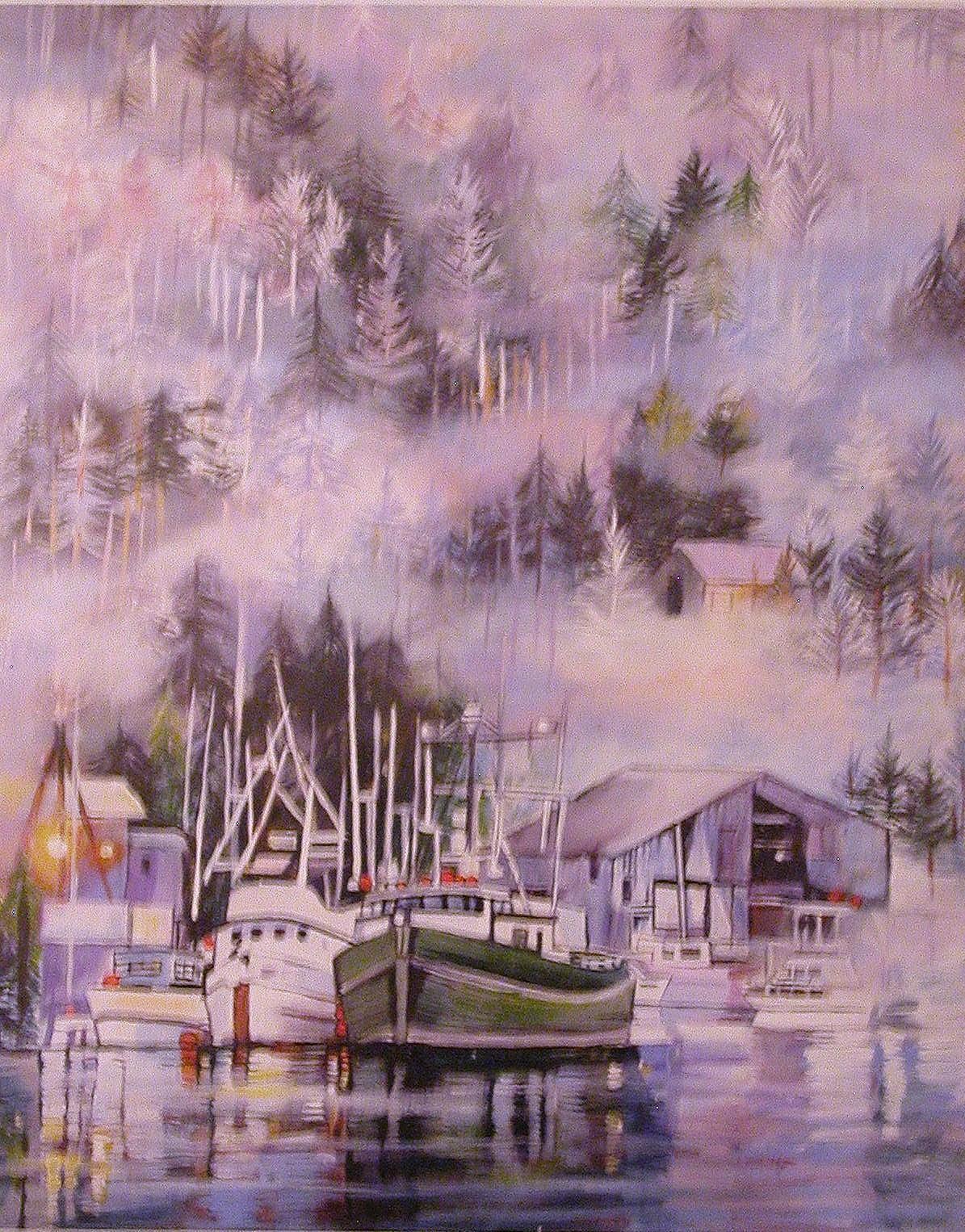 Alaskan Boat Harbor
