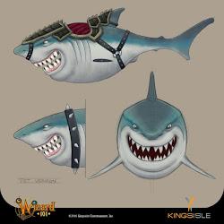 shark mount!