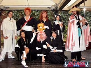 Bleach cosplay group