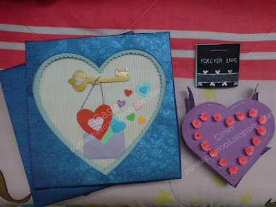 Perfect handmade valentine card gift