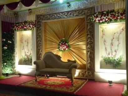 dekorasi di teras rumah