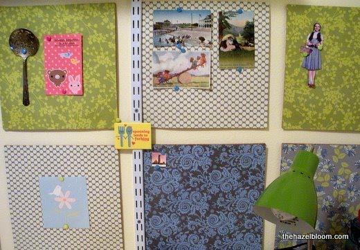 back to school projectcork board tiles