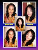BEFORE AND AFTER MAKE UP BY ME