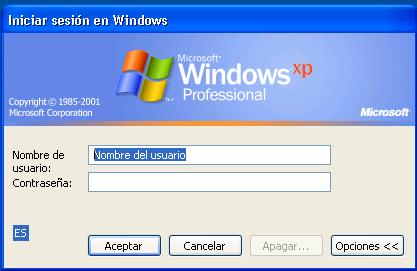 Rtlgina.dll. Habilitar Pantalla de bienvenida en Windows XP.