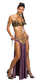 Sexy Slave Princess Leia Costumes for Star Wars. Sexy Halloween Costumes
