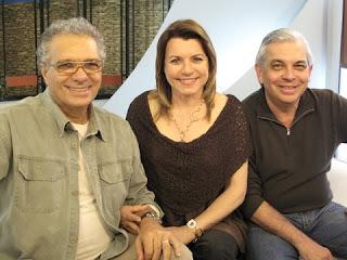 Helis Sileman ,Olga Bongiovanni e o Diretor Celso Tavares