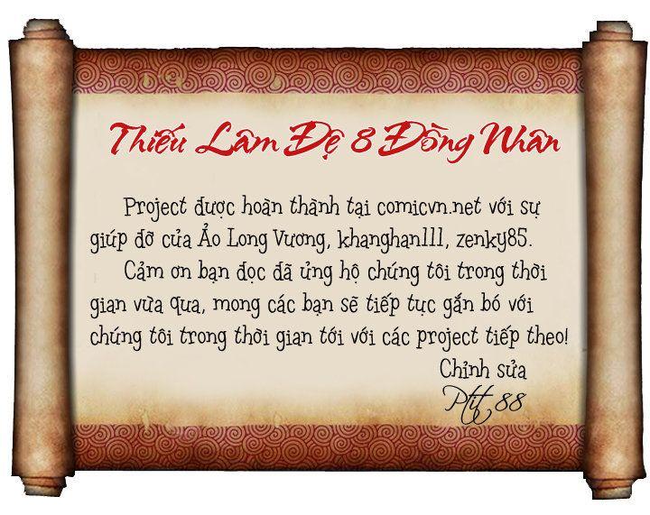 Thiếu Lâm Đệ 8 Đồng Nhân chap 60 – Kết thúc Trang 2 - Mangak.info
