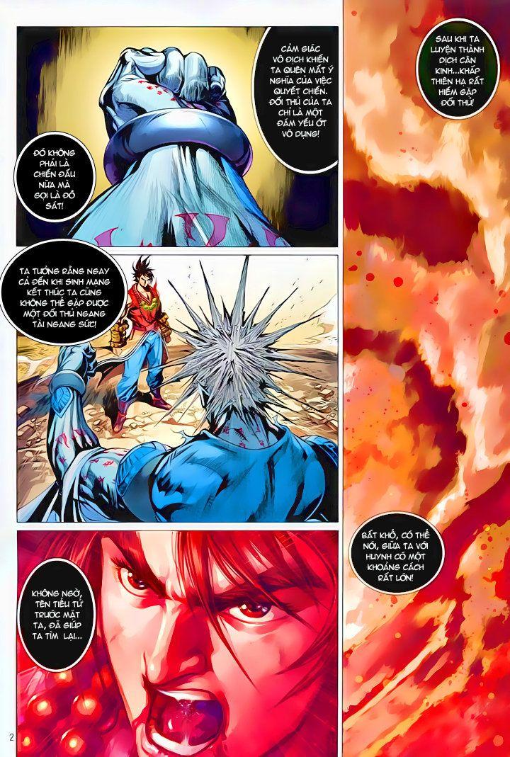 Thiếu Lâm Đệ 8 Đồng Nhân chap 60 – Kết thúc Trang 3 - Mangak.info