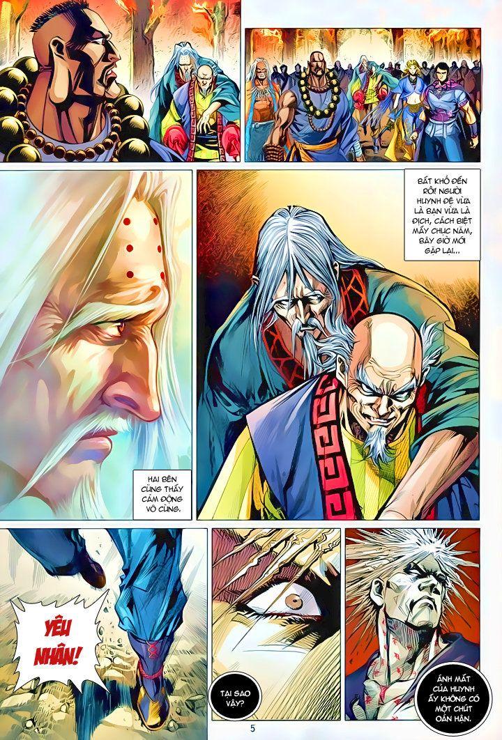 Thiếu Lâm Đệ 8 Đồng Nhân chap 60 – Kết thúc Trang 6 - Mangak.info