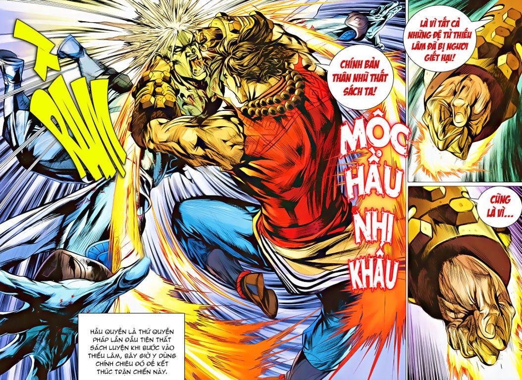 Thiếu Lâm Đệ 8 Đồng Nhân chap 60 – Kết thúc Trang 10 - Mangak.info