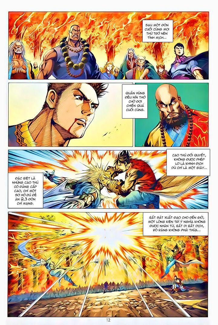 Thiếu Lâm Đệ 8 Đồng Nhân chap 60 – Kết thúc Trang 11 - Mangak.info