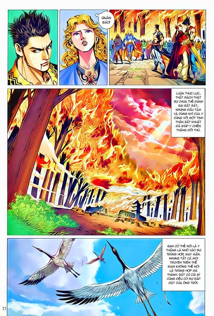 Thiếu Lâm Đệ 8 Đồng Nhân chap 60 – Kết thúc Trang 20 - Mangak.info