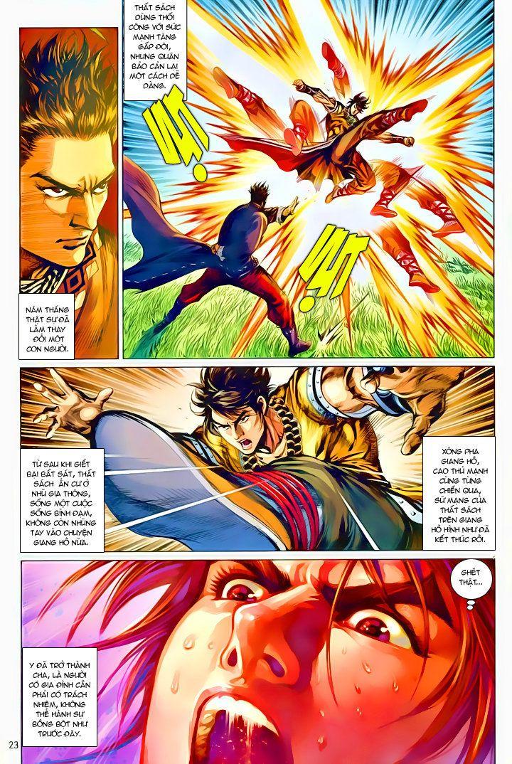 Thiếu Lâm Đệ 8 Đồng Nhân chap 60 – Kết thúc Trang 22 - Mangak.info