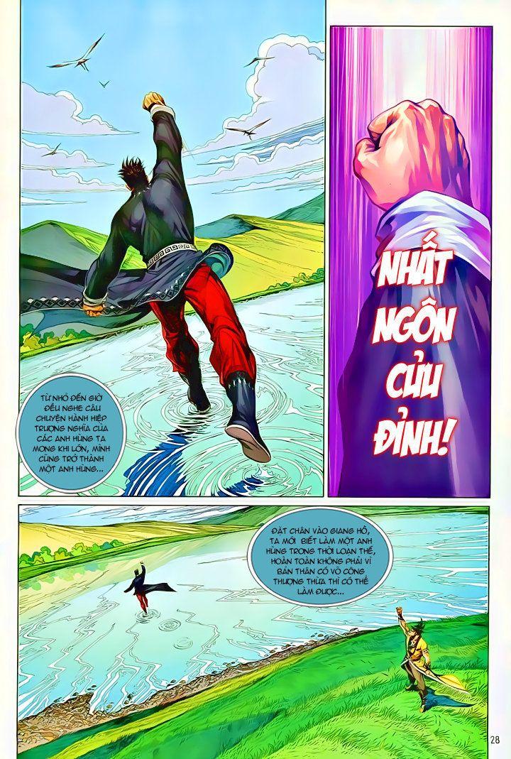 Thiếu Lâm Đệ 8 Đồng Nhân chap 60 – Kết thúc Trang 27 - Mangak.info