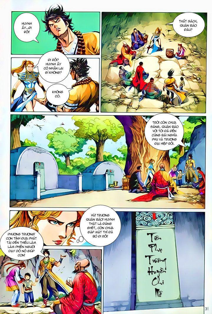 Thiếu Lâm Đệ 8 Đồng Nhân chap 60 – Kết thúc Trang 30 - Mangak.info