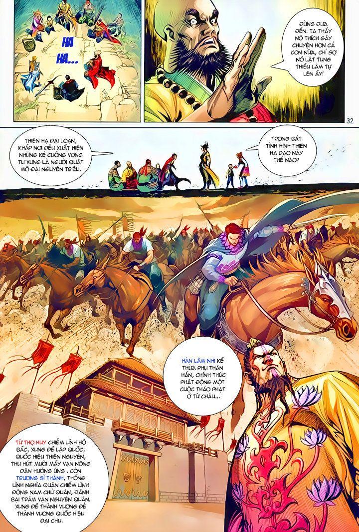 Thiếu Lâm Đệ 8 Đồng Nhân chap 60 – Kết thúc Trang 31 - Mangak.info
