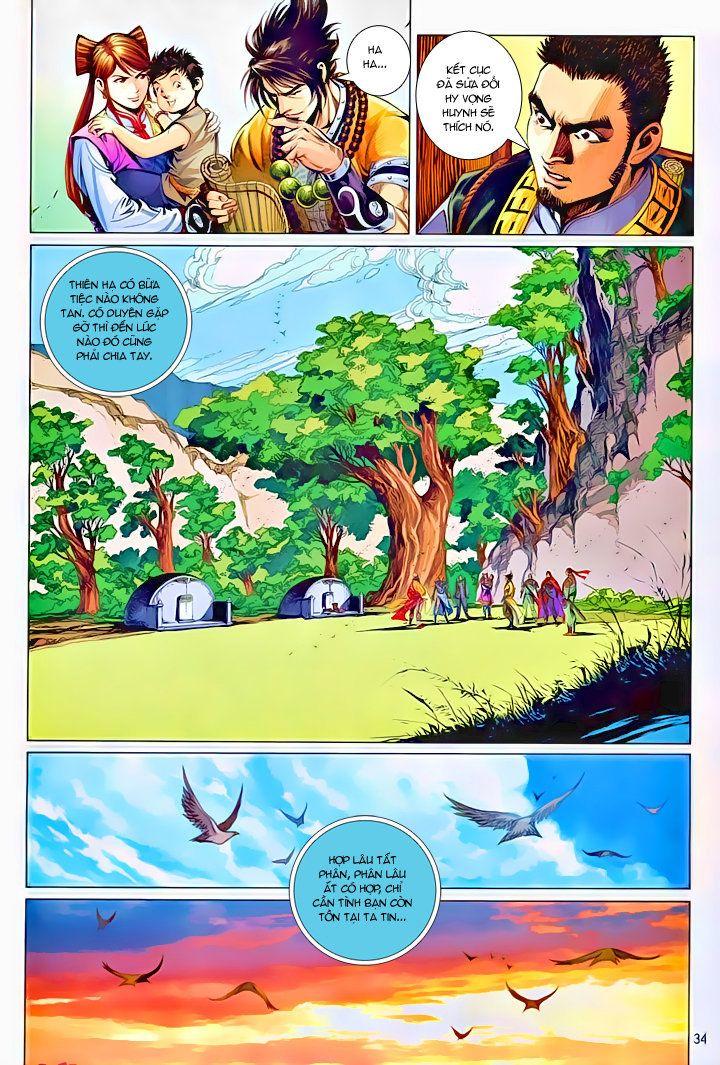 Thiếu Lâm Đệ 8 Đồng Nhân chap 60 – Kết thúc Trang 33 - Mangak.info