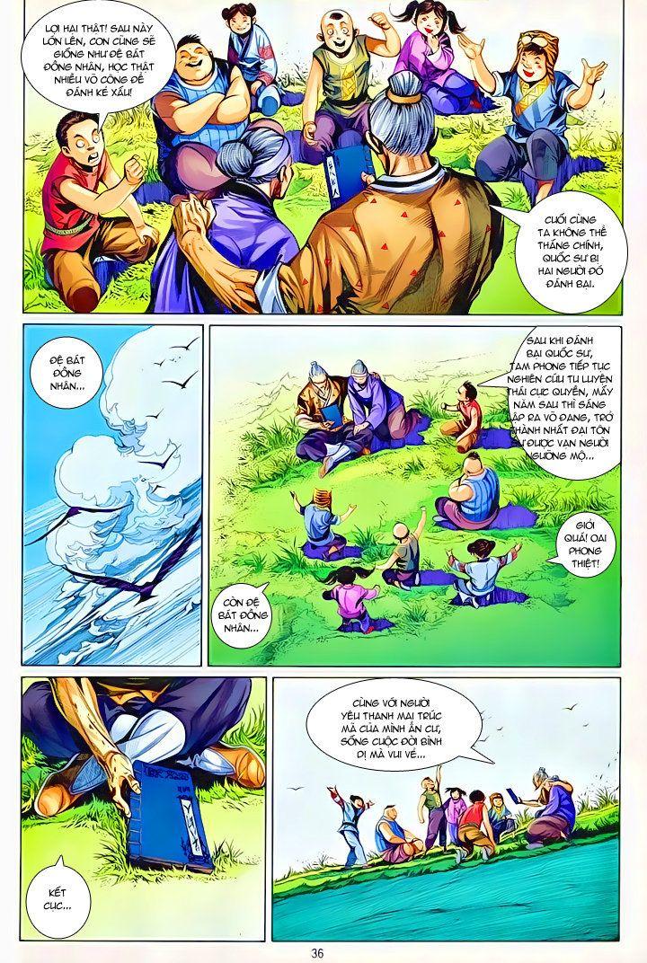 Thiếu Lâm Đệ 8 Đồng Nhân chap 60 – Kết thúc Trang 35 - Mangak.info