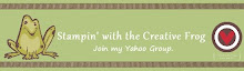 Creative Frog Blog Button